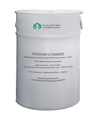 sodium cyanide talas invesment